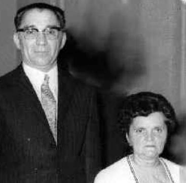 Soudan André Louis (1916/1993) en 1972 avec son épouse Denise Mayer