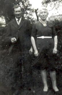 Augustine Isabelle Saillard et son époux en 1949