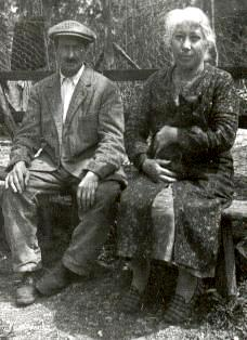 Augustine Isabelle Saillard et son époux Ernest Soudan