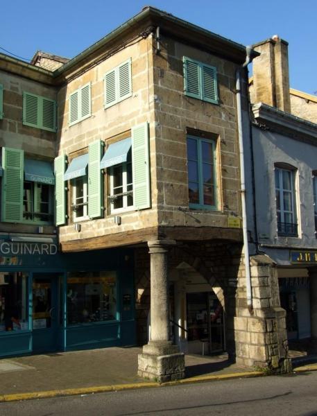 Stenay (Meuse) Les arcades