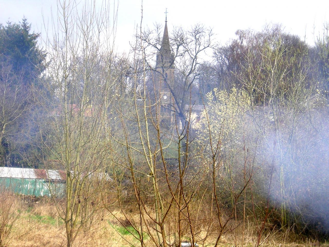 Stenay (Meuse) Cervisy, du terrain 2005