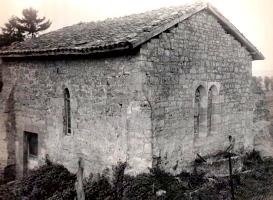 Stenay (Meuse) Cervisy, la chapelle Saint-Lambert
