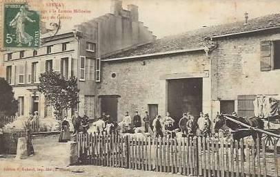 Stenay (Meuse) Cervisy, la literie militaire CPA