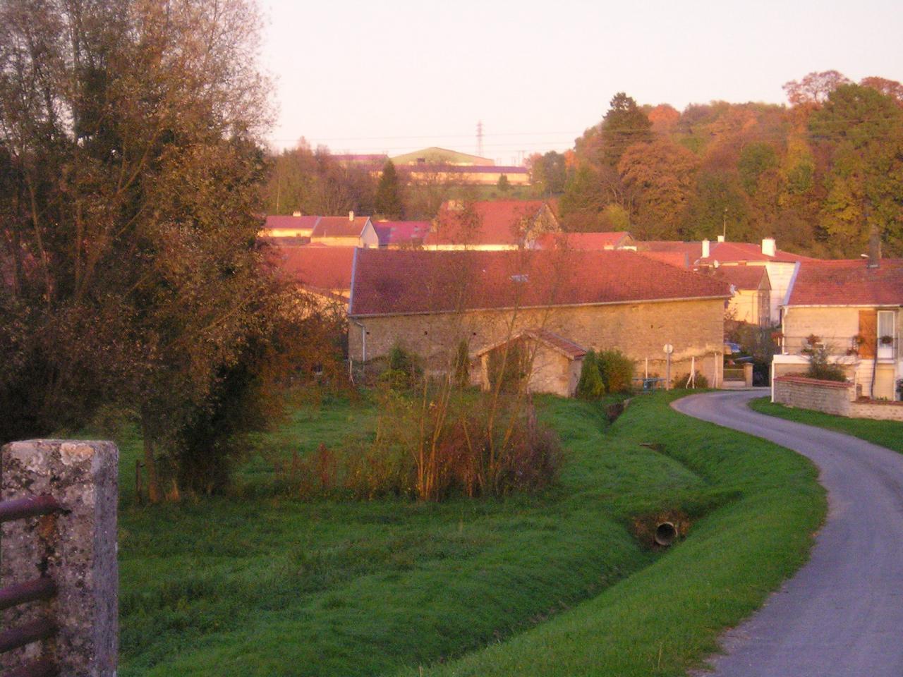 Stenay (Meuse) Cervisy, la maison 2004