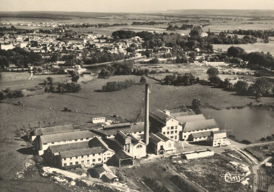 Stenay (Meuse) La Papeterie CPA