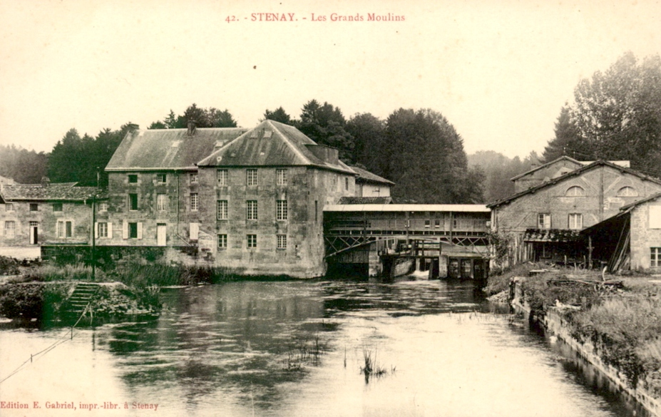 Stenay (Meuse) Le moulin CPA