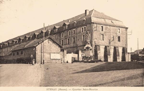 Stenay (Meuse) Le quartier Saint Maurice CPA