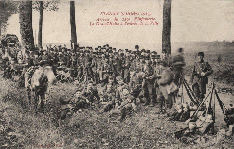 Stenay (Meuse) Pendant la guerre, 1913 CPA