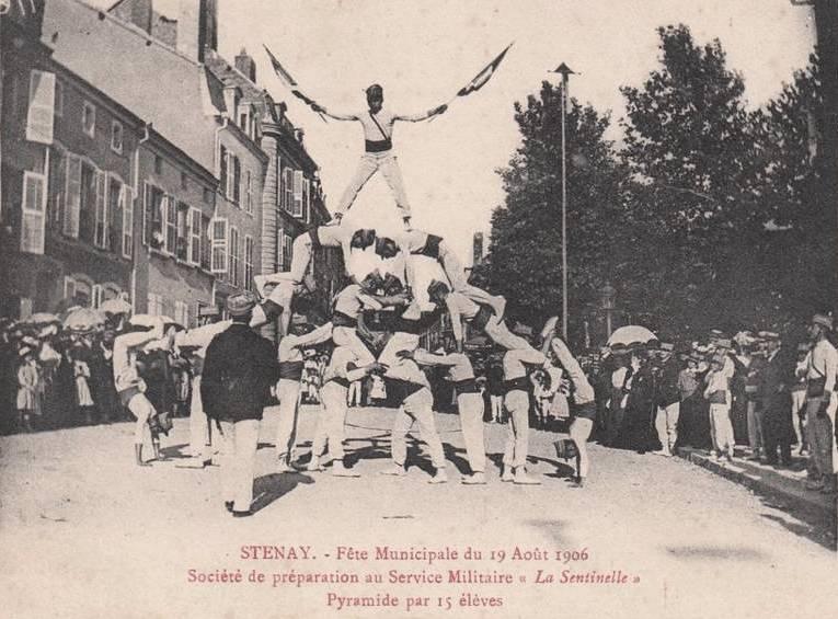 Stenay (Meuse) La fête municipale 1906 CPA