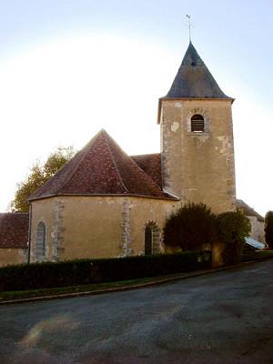 Ternant (Nièvre) L'église Saint-Roch