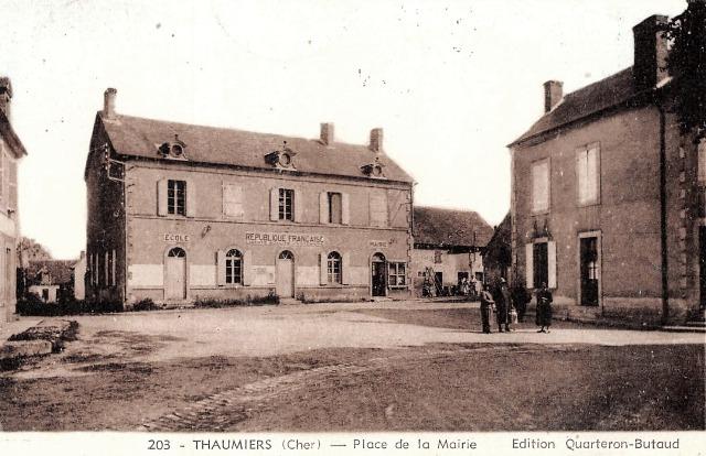 Thaumiers (18) La Mairie CPA