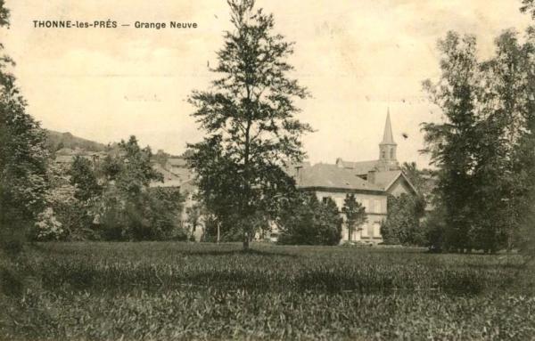 Thonne-les-Prés (Meuse) CPA