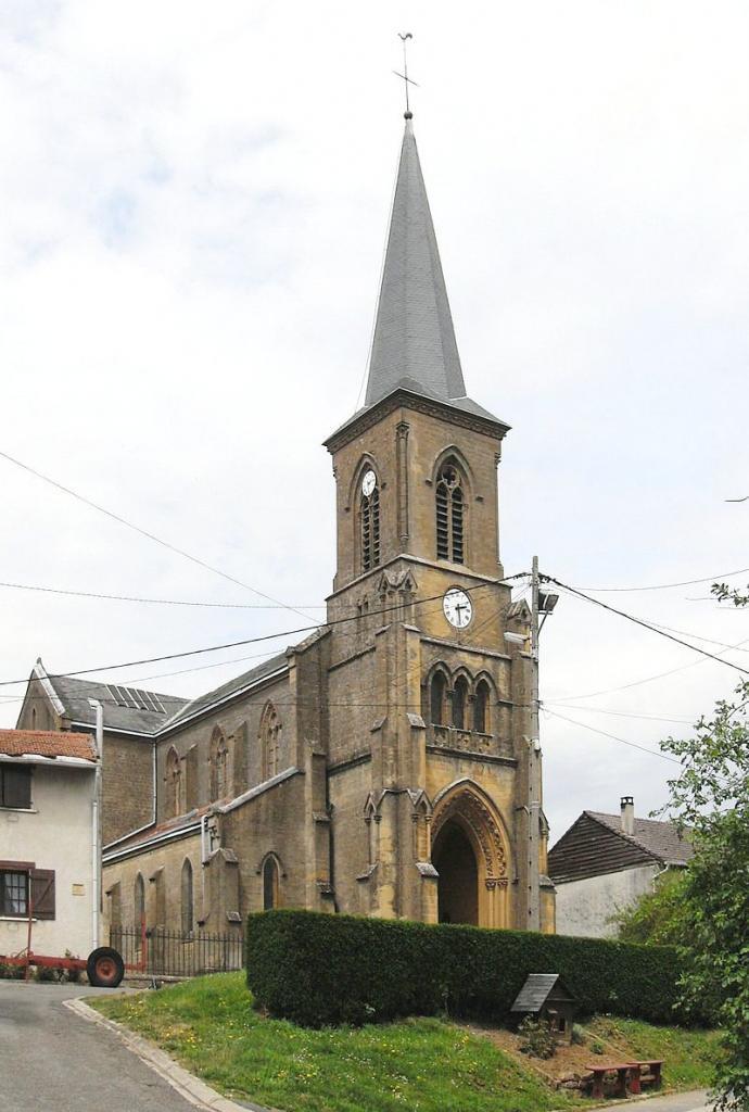 Thonne-les-Prés (Meuse) L'église Saint-Georges