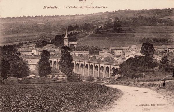 Thonne-les-Prés (Meuse) Le viaduc CPA