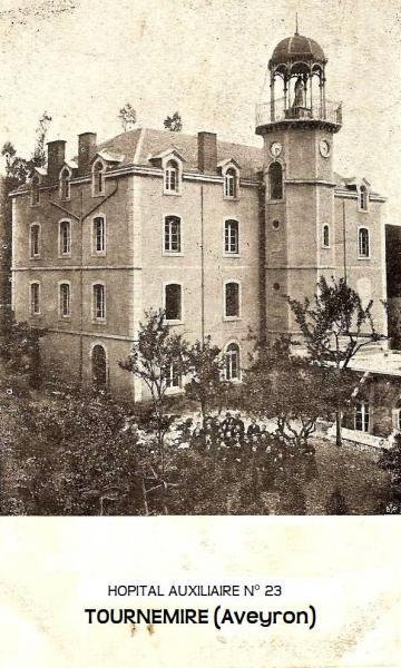 Tournemire (Aveyron) CPA L'hôpital auxiliaire