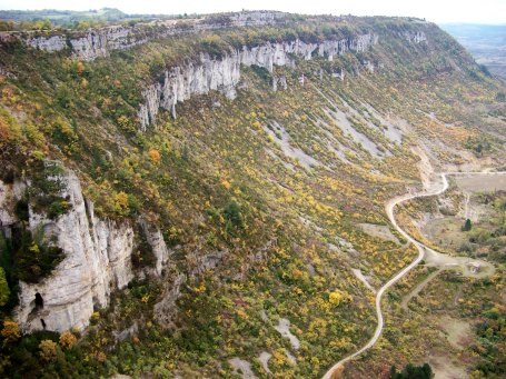 Tournemire (Aveyron) Le cirque de Brias