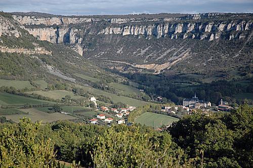 Tournemire (Aveyron) Vue générale