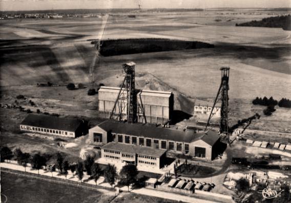 Tressange (Moselle) Bure, la mine CPA