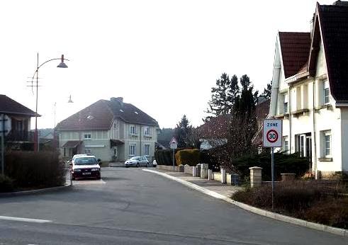 Tressange (Moselle) Bure, rue François Villon