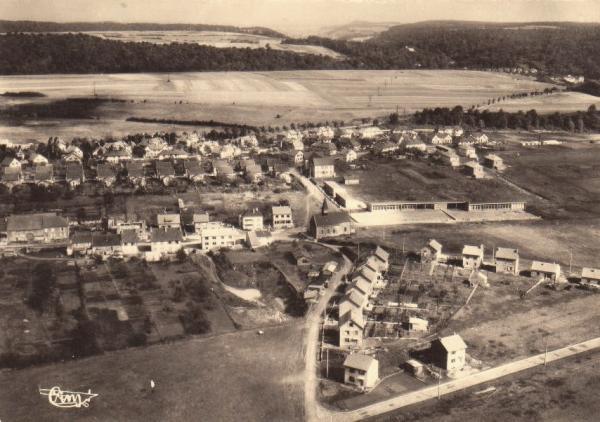 Tressange (Moselle) Bure, vue générale CPA