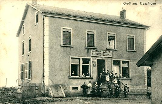 Tressange (Moselle) CPA