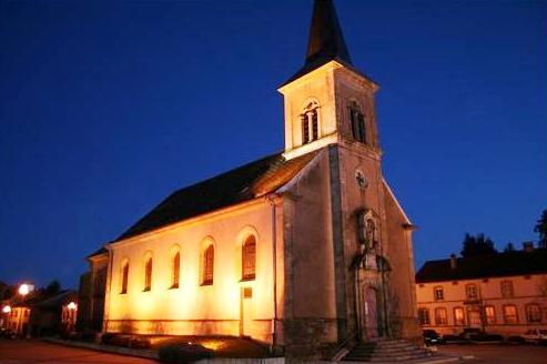 Tressange (Moselle) L'église
