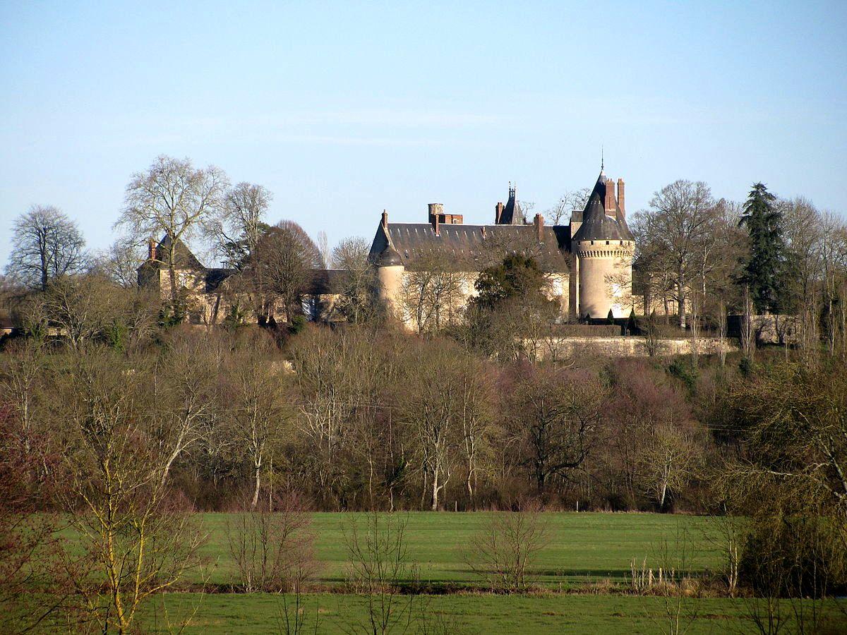 Urzy (Nièvre) Le château des Bordes