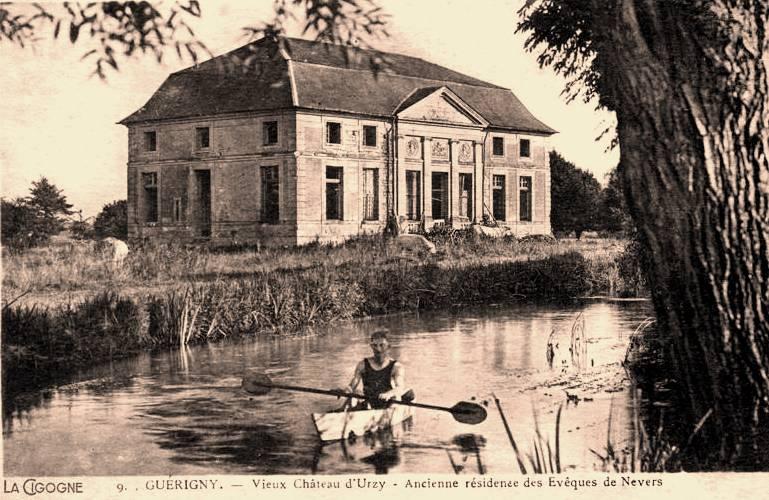 Urzy (Nièvre) Le château des Eveques CPA