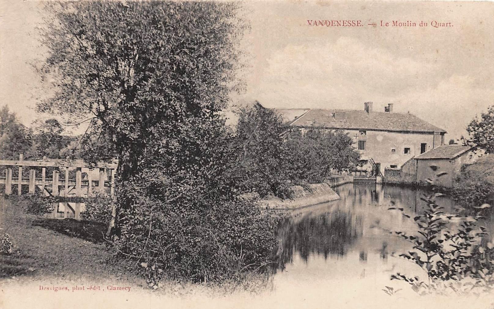 Vandenesse (Nièvre) Le Moulin du Quart CPA