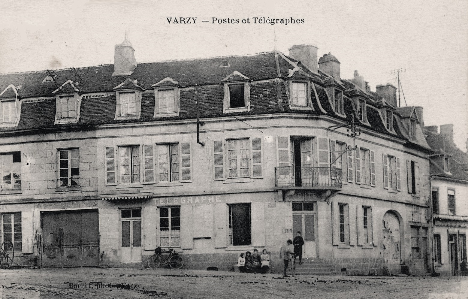 Varzy (Nièvre) La Poste CPA