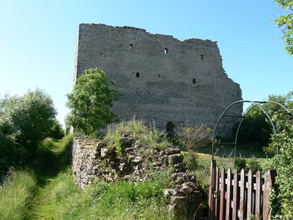 Vaudémont (Meurthe-et-Moselle) Le château, la tour Brunehaut