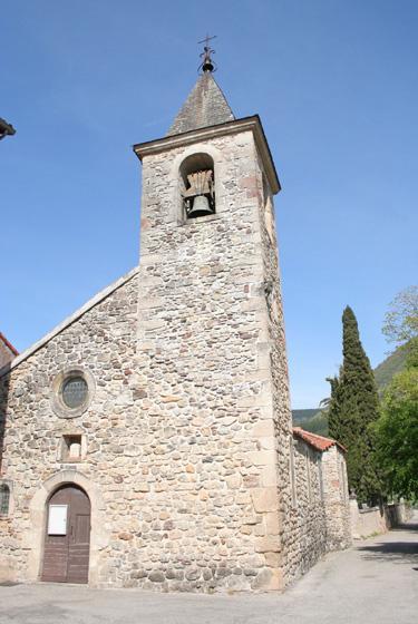Versols-et-Lapeyre (Aveyron) L'église Saint Thomas