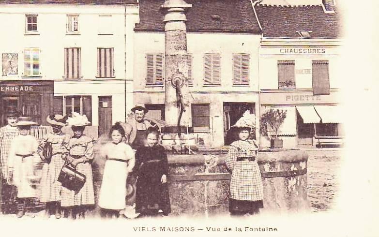 Vieils-Maisons (Aisne) CPA Fontaine