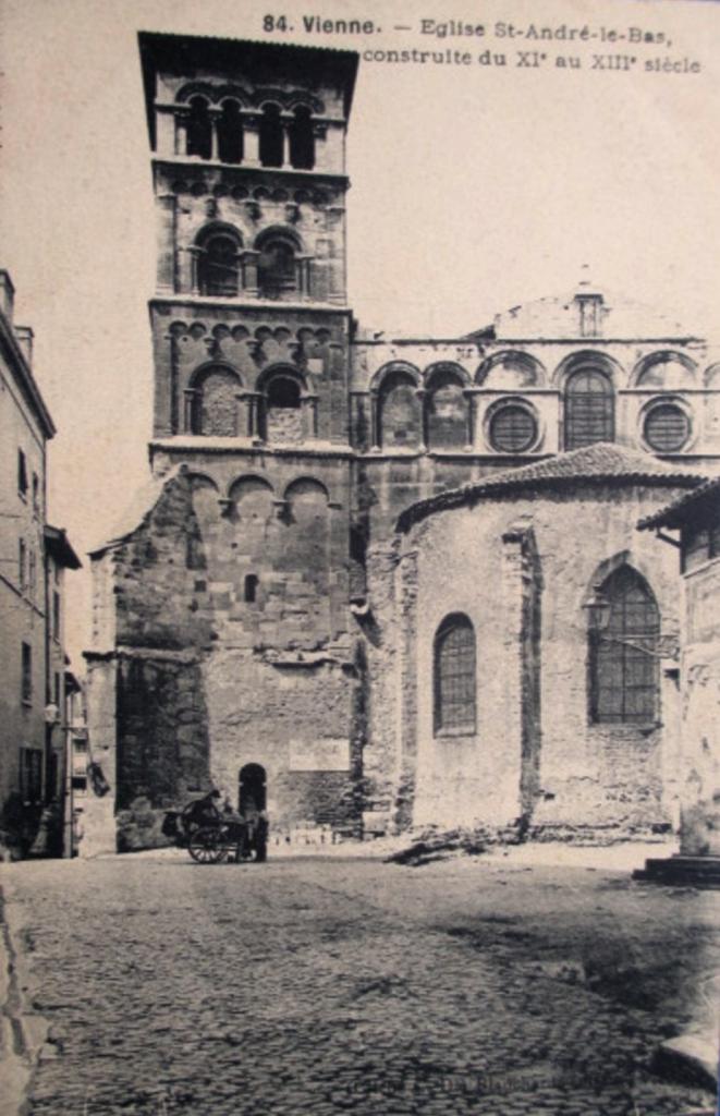 Vienne (Isère) L'église Saint-André-le-Bas CPA