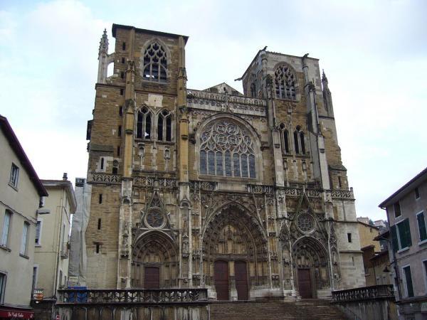 Vienne (Isère) La cathédrale Saint-Maurice