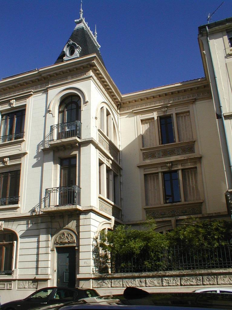 Vienne (Isère) La villa Vaganay
