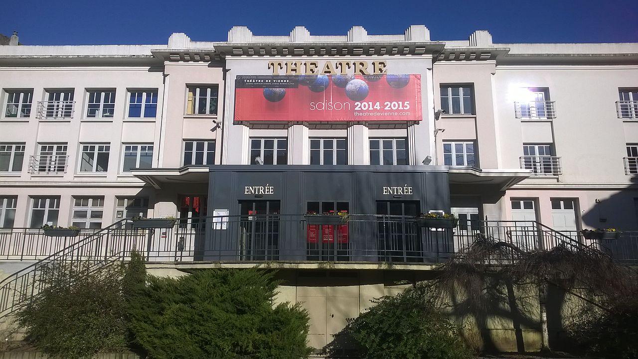 Vienne (Isère) Le théâtre municipal