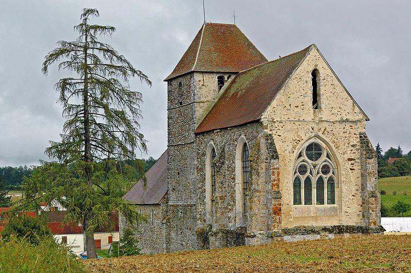 Viffort (Aisne) l'église