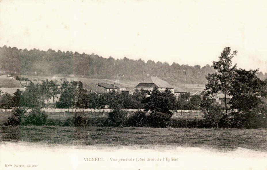 Vigneul-sous-Montmédy (Meuse) Vue générale CPA