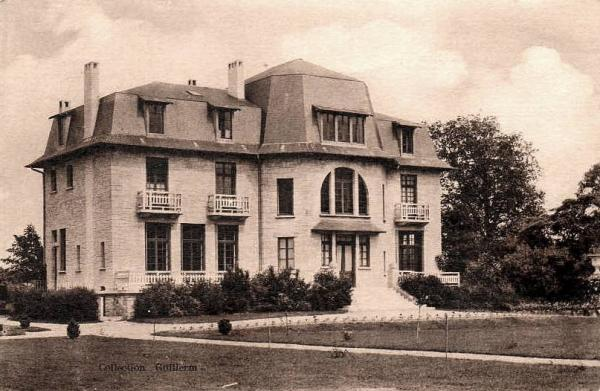 Villers-en-Prayères (Aisne) CPA le château