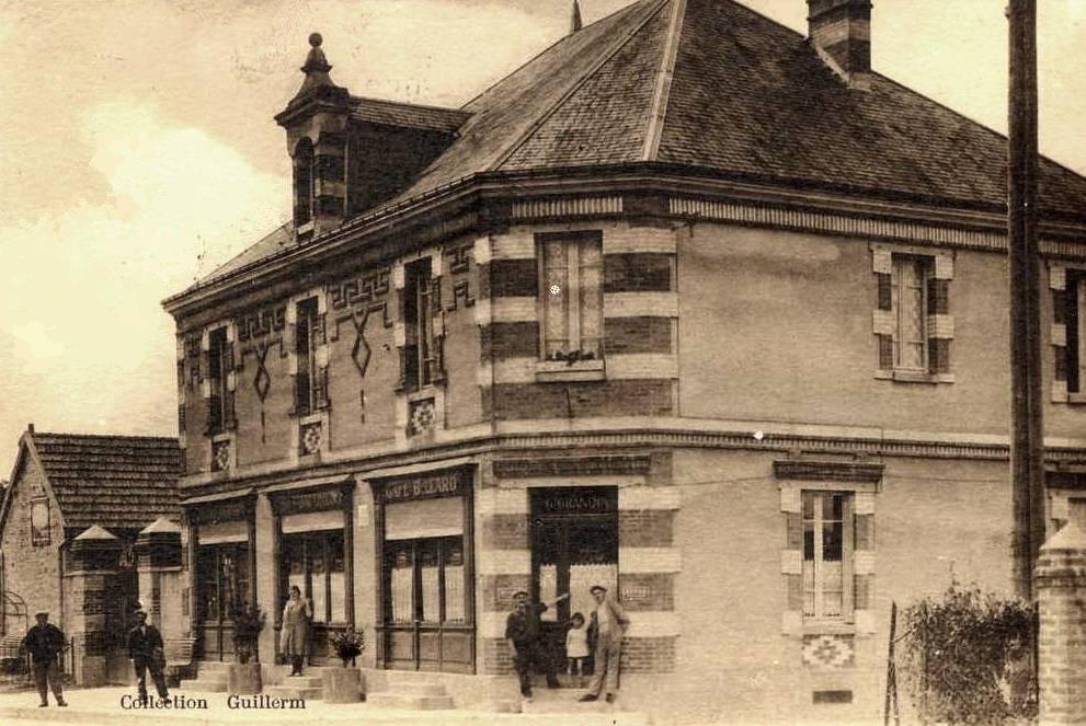 Villers-en-Prayères (Aisne) CPA l'hôtel Grandin