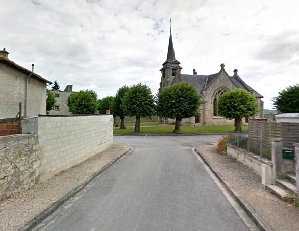 Villers-en-Prayères (Aisne) l'église Saint-Médard