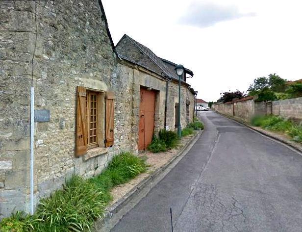 Villers-en-Prayères (Aisne) la rue des vieux écus
