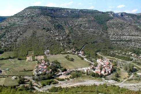 Vissec (Gard) Le cirque de Vissec
