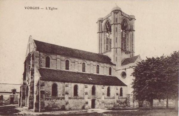 Vorges (Aisne) CPA Eglise