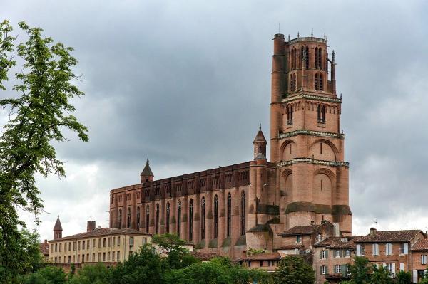 Albi tarn la cathedrale sainte cecile