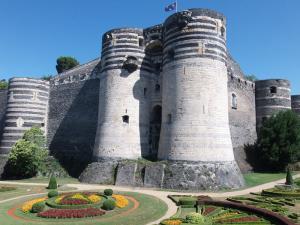 Angers maine et loire le chateau