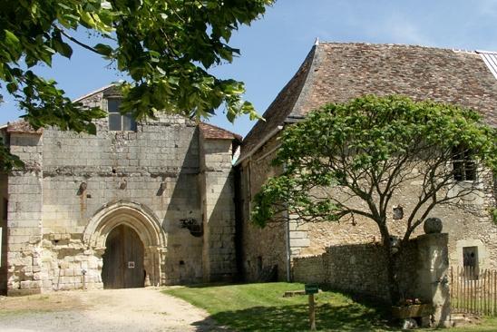 Archigny vienne l abbaye de l etoile