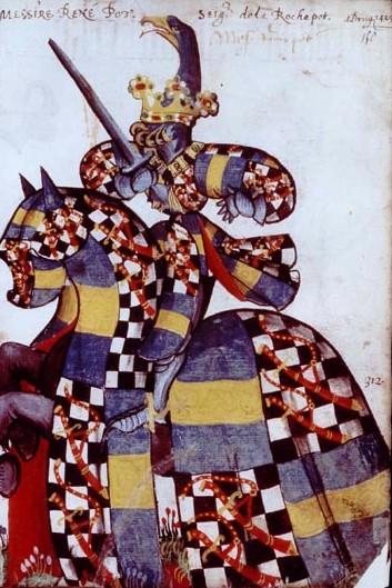 Armorial equestre toison d or regnier pot