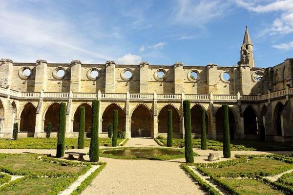 Asnieres sur oise val d oise abbaye de royaumont le cloitre